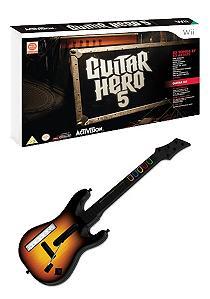 Boxart van Guitar Hero 5 (inclusief gitaar) (Wii), Budcat Creations