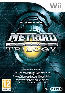 Boxart van Metroid Prime Trilogy (Wii), Nintendo