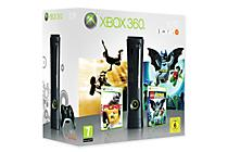 Boxart van Xbox 360 Console Elite Bundel (inclusief LEGO Batman en Pure) (Xbox360), Microsoft