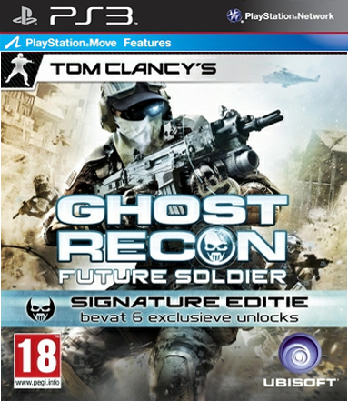 Boxart van Tom Clancy's Ghost Recon: Future Soldier Signature Edition (PS3), Ubisoft