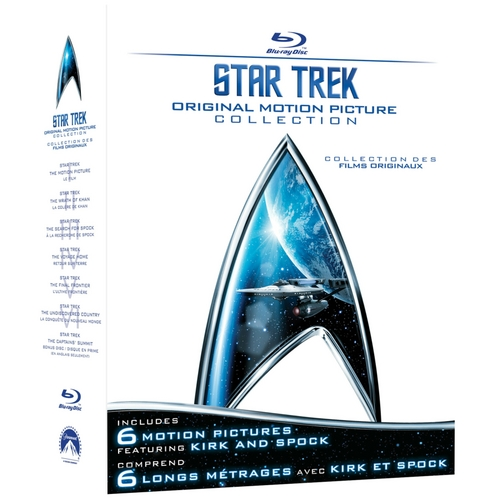 Boxart van Star Trek Boxset 1-6 (Blu-ray), Robert Wise, Nicholas Meyer