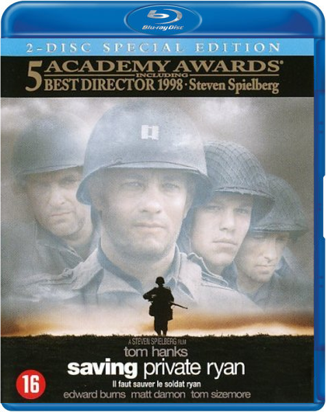 Boxart van Saving Private Ryan (Blu-ray), Steven Spielberg