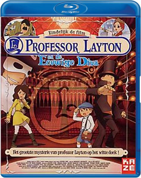 Boxart van Professor Layton en de Eeuwige Diva (Blu-ray), Masakazu Hashimoto