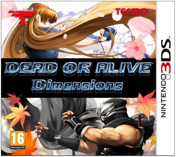 Boxart van Dead or Alive Dimensions (3DS), Team Ninja