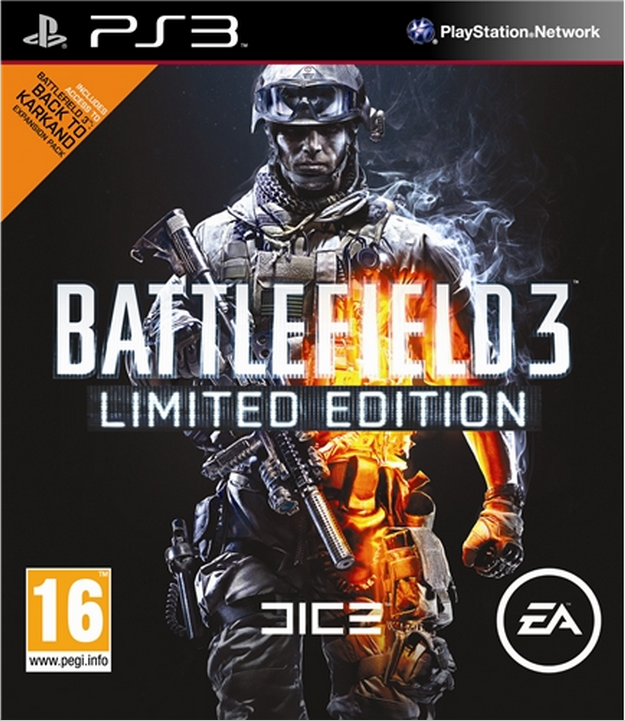 Boxart van Battlefield 3 Limited Edition (PS3), EA DICE