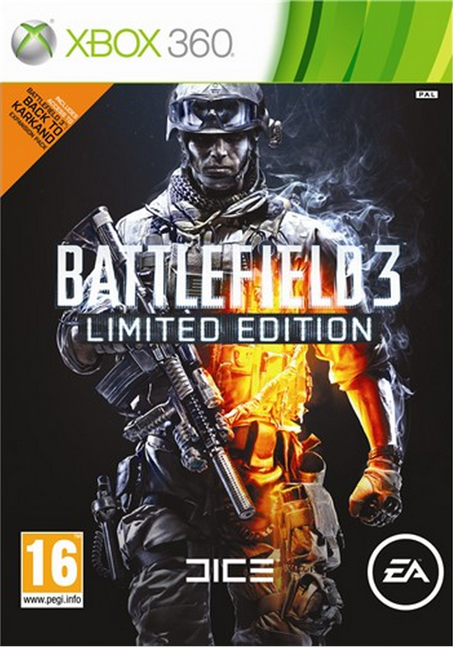 Boxart van Battlefield 3 Limited Edition (Xbox360), EA DICE
