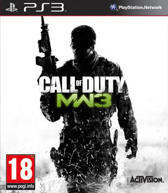 Boxart van Call of Duty: Modern Warfare 3 (PS3), Infinity Ward