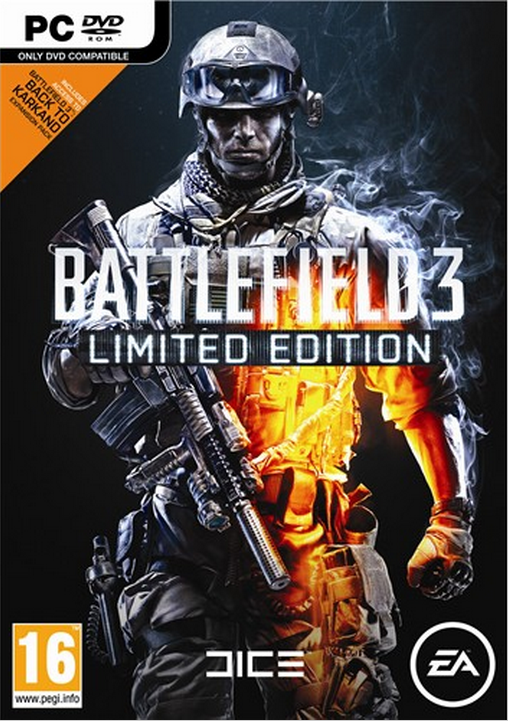Boxart van Battlefield 3 Limited Edition (PC), EA DICE