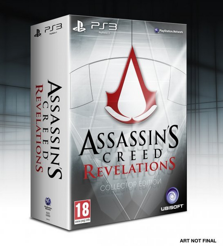 Boxart van Assassin's Creed: Revelations Collectors Edition (PS3), Ubisoft