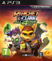 Boxart van Ratchet & Clank: All 4 One (PS3), Insomniac Games