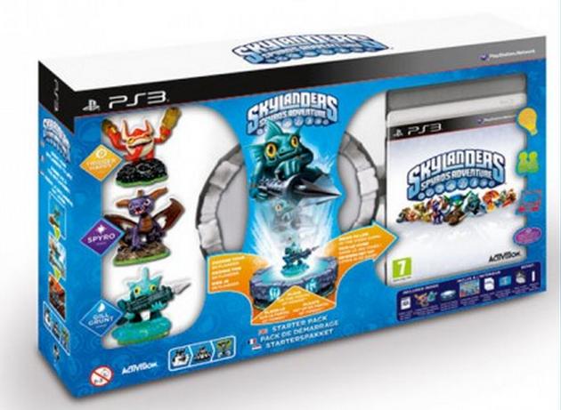 Skylanders: Spyro's Adventure Starter Pack (PS3), Toys for Bob