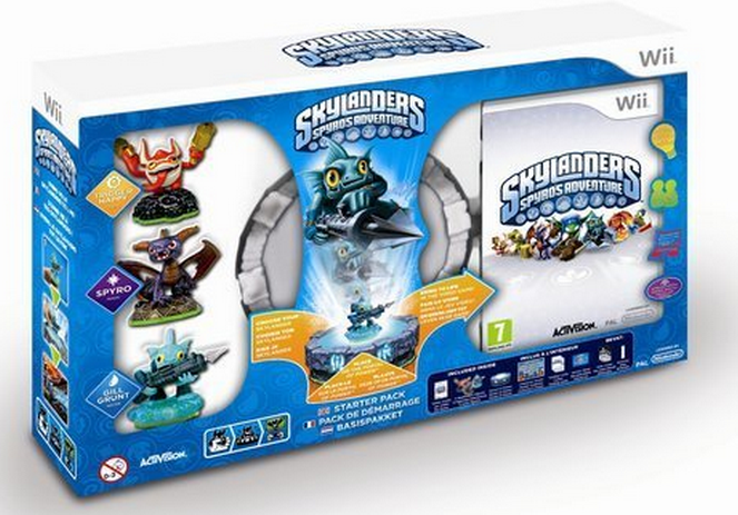 Skylanders: Spyro's Adventure Starter Pack (Wii), Toys for Bob