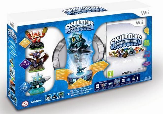 Boxart van Skylanders: Spyro's Adventure Starter Pack (Wii), Toys for Bob