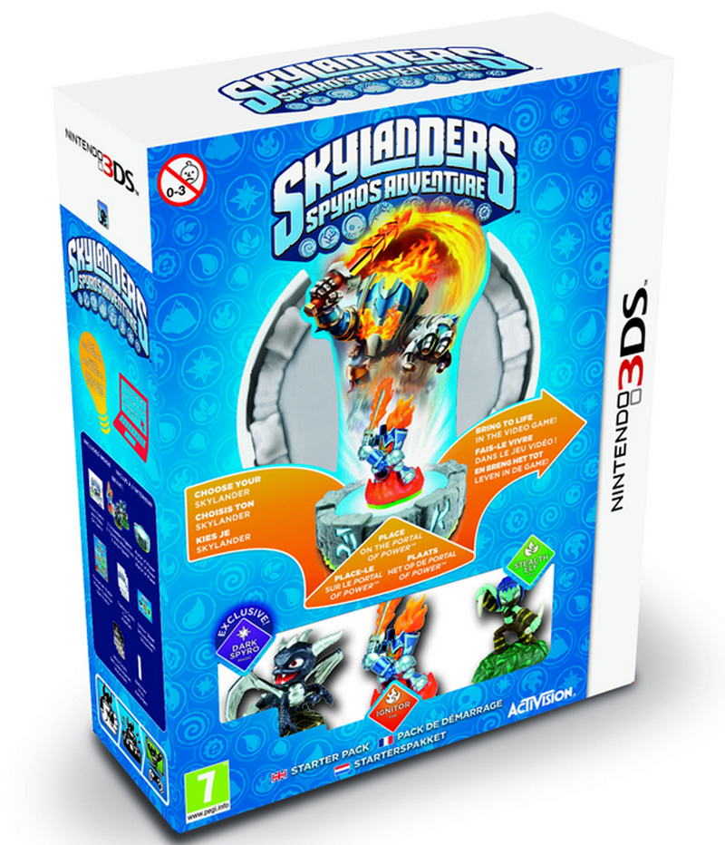 Boxart van Skylanders: Spyro's Adventure Starter Pack (3DS), Toys for Bob