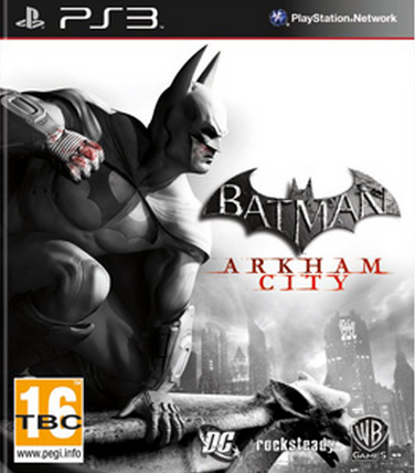 Boxart van Batman: Arkham City (PS3), Rocksteady Studios