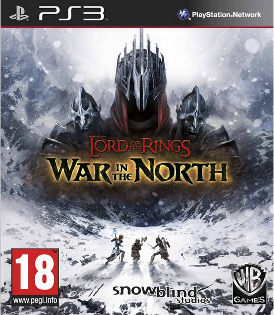 Boxart van Lord of the Rings: War in the North (PS3), Snowblind Studios
