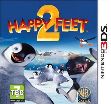 Boxart van Happy Feet 2 (3DS), KMM Games