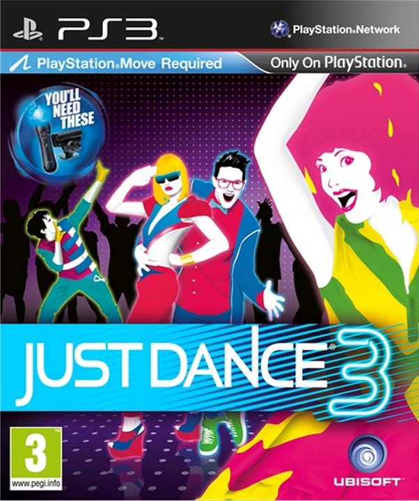 Boxart van Just Dance 3 (PS3), Ubisoft