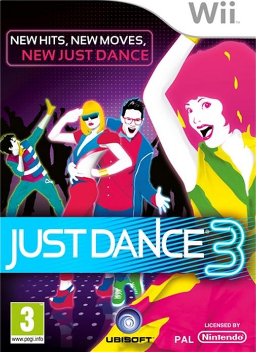 Boxart van Just Dance 3 (Wii), Ubisoft