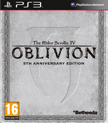 Boxart van The Elder Scrolls IV Oblivion 5th Anniversary Edition (PS3), Buena Vista Games