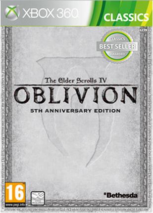 Boxart van The Elder Scrolls IV Oblivion 5th Anniversary Edition (Xbox360), Buena Vista Games