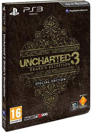 Boxart van Uncharted 3: Drake's Deception Special Edition (PS3), Naughty Dog