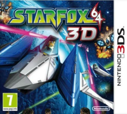 Boxart van StarFox 64 3D (3DS), Nintendo