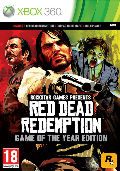 Boxart van Red Dead Redemption Game Of The Year Edition (Xbox360), Rockstar