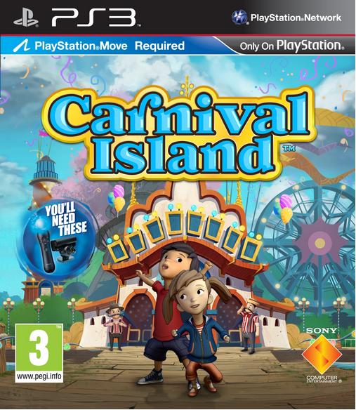 Boxart van Carnival Island (PS3), Magic Pixel Games