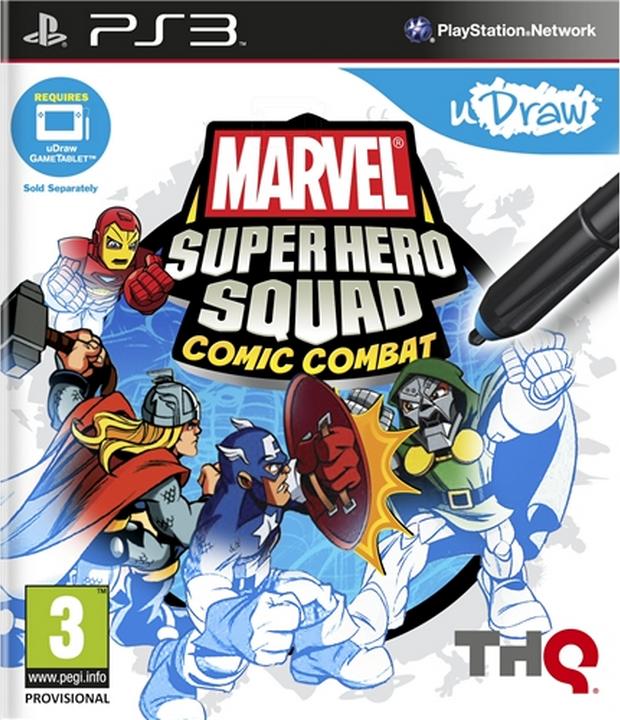 Boxart van Marvel Super Hero Squad: Comic Combat (PS3), THQ