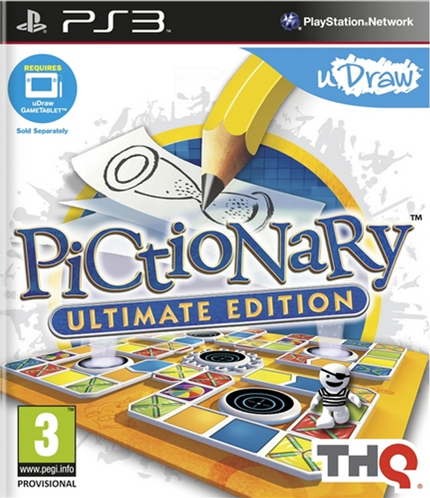 Boxart van Pictionary: Ultimate Edition (PS3), THQ