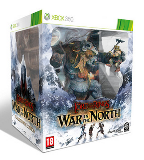 Boxart van Lord of the Rings: War in the North Collectors Edition (Xbox360), Snowblind Studios