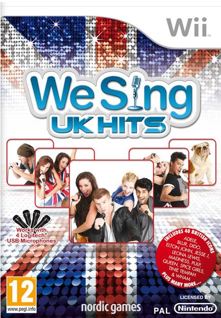 Boxart van We Sing UK Hits (Wii), Nordic Games