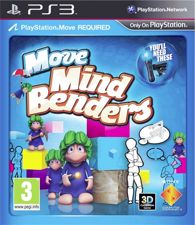 Boxart van Move Mind Benders (PS3), XDev Studios Europe