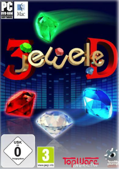 Boxart van 3Jeweled (PC), Reality Pump