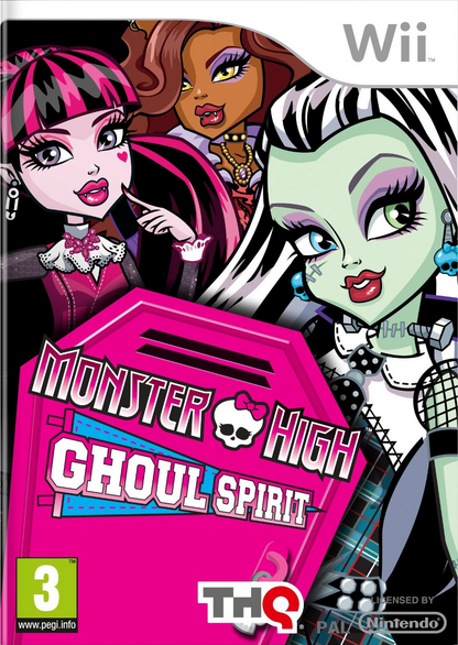 Boxart van Monster High: De Grafgeest (Wii), THQ