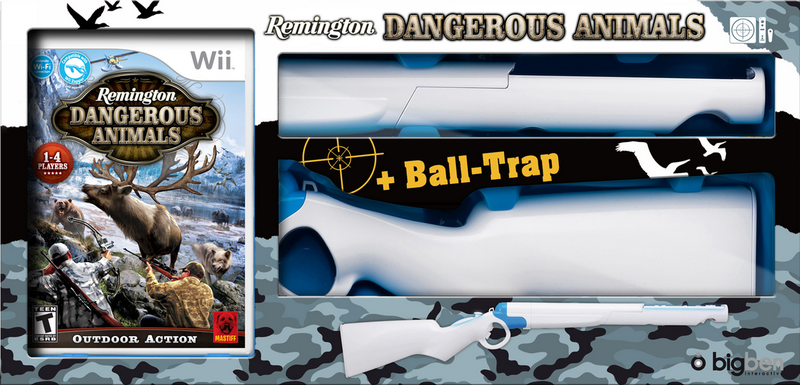 Boxart van Dangerous Animals + Rifle (Bundel) (Wii), Big Ben