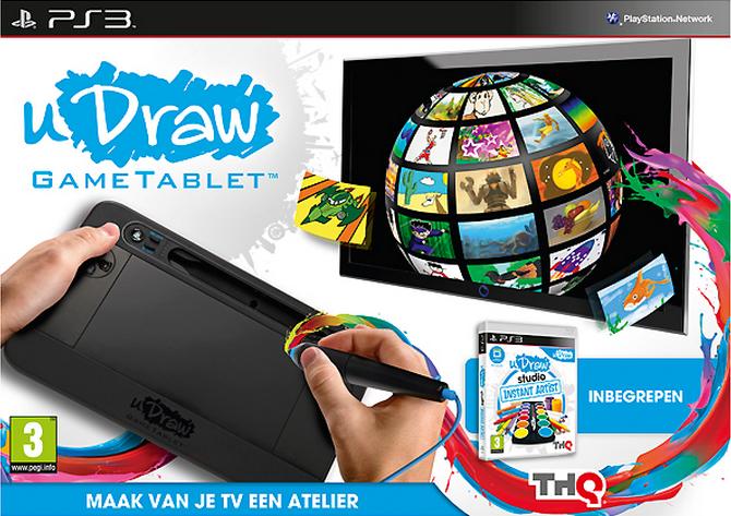 Boxart van uDraw HD Gametablet + uDraw Studio: Instant Artist (PS3), THQ