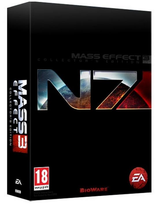 Boxart van Mass Effect 3 Collectors Edition (Xbox360), Bioware