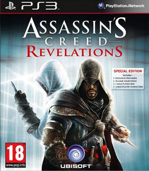 Boxart van Assassin's Creed: Revelations Special Edition (PS3), Ubisoft