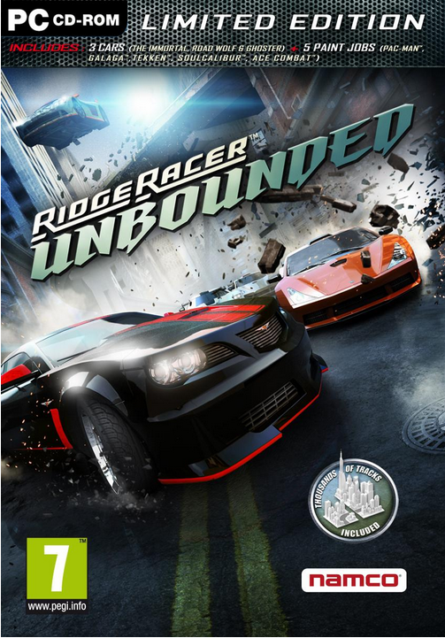 Boxart van Ridge Racer Unbounded Limited Edition (PC), Bugbear Entertainment