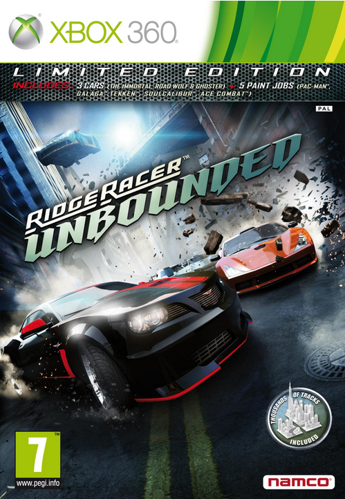 Boxart van Ridge Racer Unbounded Limited Edition (Xbox360), Bugbear Entertainment