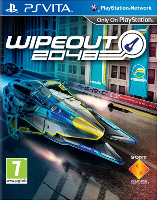 Boxart van Wipeout 2048 (PSVita), Sony Computer Entertainment