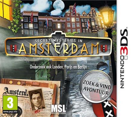 Boxart van Secret Mysteries In Amsterdam (3DS), MSL