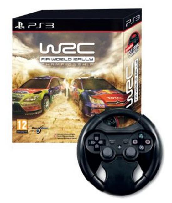 Boxart van WRC: FIA World Rally Championship + Racing Wheel (PS3), Milestone