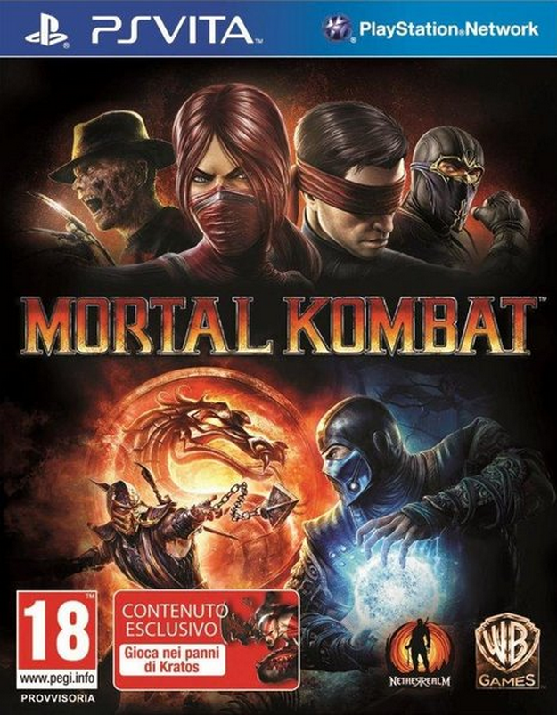 Boxart van Mortal Kombat (PSVita), NetherRealm