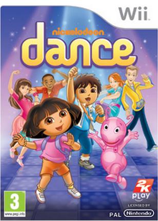Boxart van Nickelodeon Dance (Wii), 2K Play