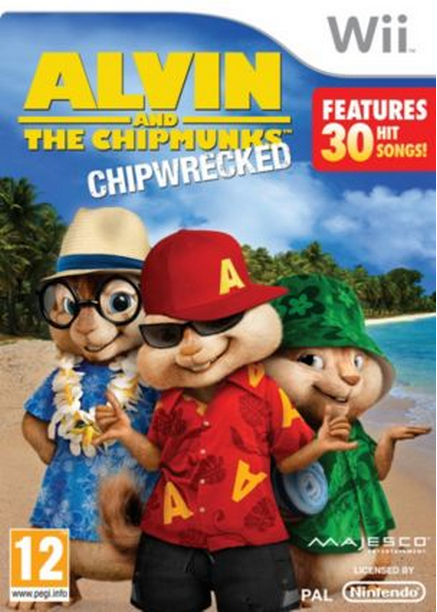 Boxart van Alvin And The Chipmunks: Chipwrecked (Wii), Behaviour Interactive