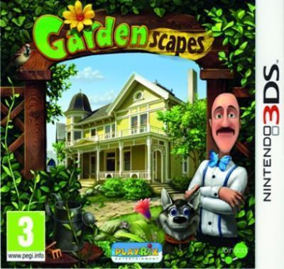 Boxart van Gardenscapes (3DS), Easy Interactive