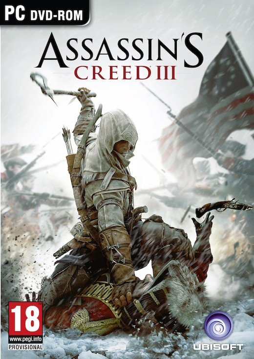 Boxart van Assassin's Creed III (PC), Ubisoft